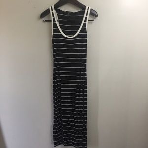 Forever 21 striped sleeveless maxi dress. Small